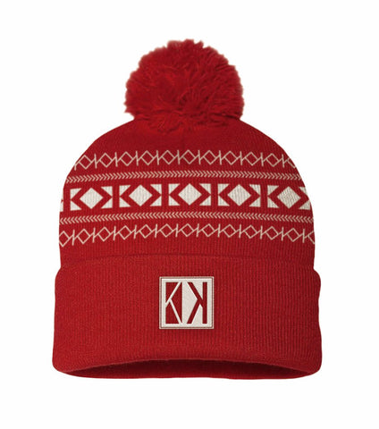 Dark Red Beanie