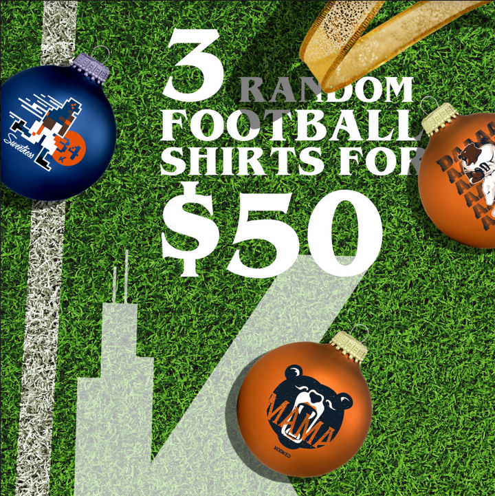 Field Goal Pack - 3 for $50 (Football)