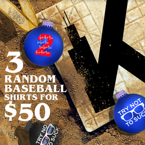 Triple Pack - 3 for $50 (Baseball)