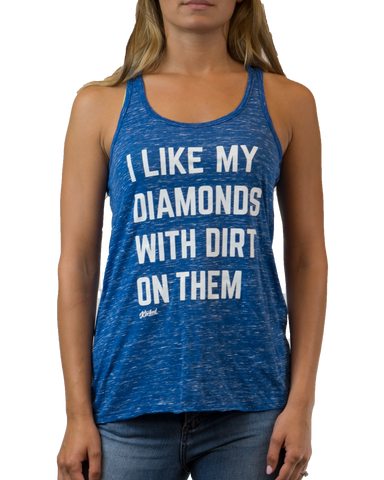 Women's Diamonds With Dirt Tank