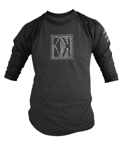 Korked Baseball Graphics 3/4 Sleeve