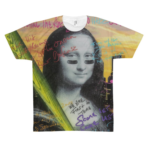 Mona Lisa - All Over Print