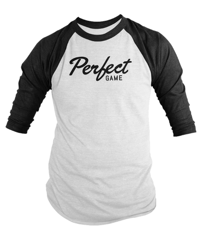 Perfect Game 3/4 Sleeve Script