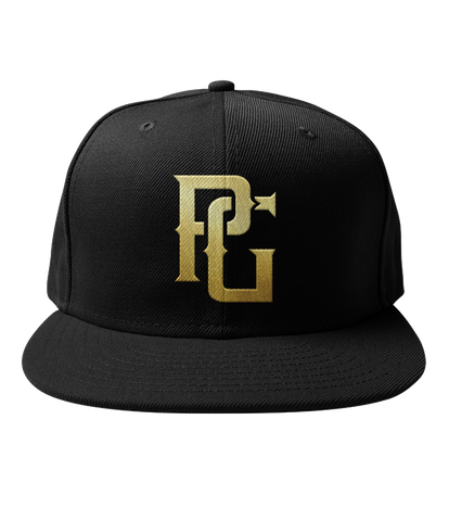Perfect Game Black & Gold New Era Snapback