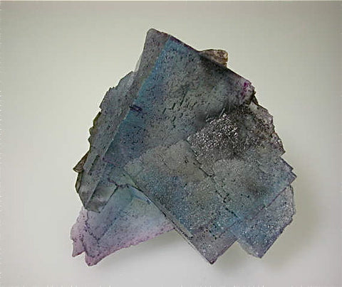 Fluorite, Annabel Lee Mine, Ozark-Mahoning Company, Harris Creek District, Southern Illinois, Mined c. 1988-1989, Koster Collection, Medium Cabinet 5.5 x 11.0 x 12.0 cm, $450. Online 3/11.  SOLD.