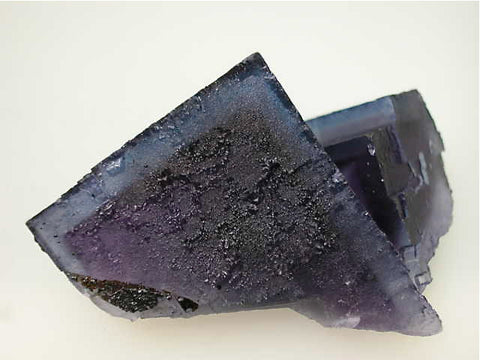 Fluorite, Rosiclare Level Minerva #1 Mine, Ozark-Mahoning Company, Cave-in-Rock District, Southern Illinois, Mined c. 1993, Tolonen Collection, Miniature 3.0 x 5.5 x 6.5 cm, $250.  Online 1/13 SOLD