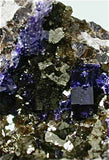 Fluorite on limestone, Auglaize Quarry, Junction, Paulding, Ohio small cabinet 4 x 5 x 10 cm $75. Online 3/18. SOLD.