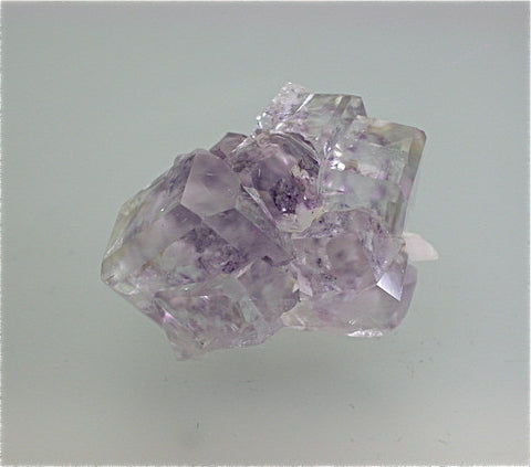 Fluorite, Shanybao Mine, Leiyang, Hunan Province, China, Mined c. 2007, Kalaskie Collection #42-275, Miniature 2.2 x 2.5 x 3.0 cm, $125.  Online 11/2