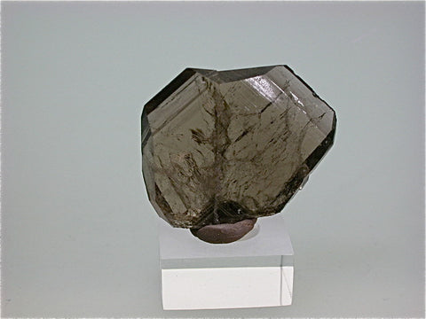 Quartz var. Japan Law Twin, Tira, Lincoln County, New Mexico Miniature 0.7 x 2.9 x 3.6 cm $200. Online 10/27