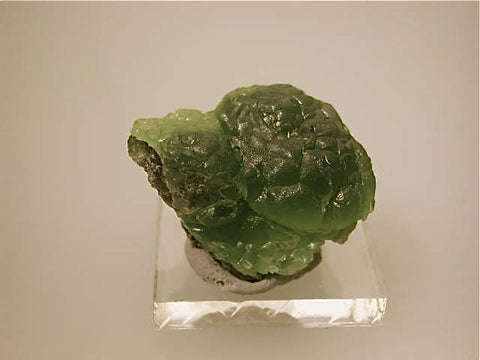 SOLD Smithsonite, 79 Mine, Gila County, Arizona, Kalaskie Collection #1230, Miniature 1.7 x 3.0 x 3.2 cm, $60.  Online 11/9.