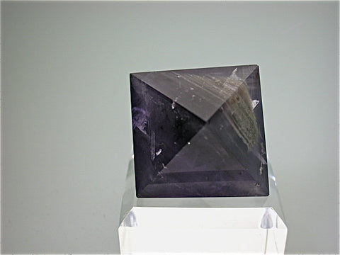 Polished Fluorite, Annabel Lee Mine, Harris Creek District, Southern Illinois 3 cm on edge $45. Online August 1