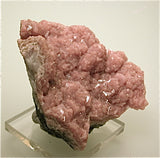 SOLD Rhodochrosite, Santa Rita Mine, Morococha District, Junin Department Peru, Mined ca. 2009, Kalaskie Collection #1043, Small Cabinet 5.0 x 7.0 x 8.0 cm, $125.  Online 2/27
