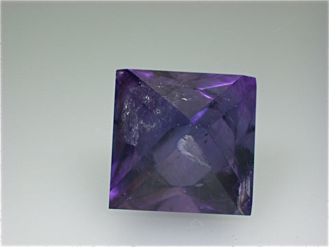 Polished Fluorite, Harris Creek District, S. Illinois, Kalaskie Collection #42-147, Miniature 3.4 cm on edge, $150. Online 1/14