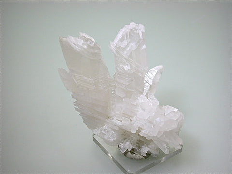 Quartz, Bor Quarry, Dalnegorsk, Russia, Mined c. early 2000s, Kalaskie Collection #1317, Small Cabinet 7.0 x 7.5 x 9.0 cm, $300. Online 11/3