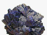 Azurite, Shilu Mine, Yang Chun, Guangdong Province, China, Mined ca. 1984, Kalaskie Collection #382, Miniature 4.0 x 6.0 x 6.0 cm, $450. Online 2/27.