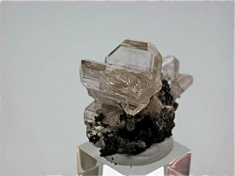 Cerussite, Tsumeb Mine, Namibia, Kalaskie Collection #209, Miniature 2.3 x 3.0 x 4.0 cm, $650. Online 11/9