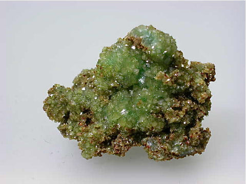 Adamite, Mapimi, Mexico, Eric Peterson Collection, Miniature 3.2 x 3.3 x 5.2 cm, $25.  Online 11/9. SOLD.