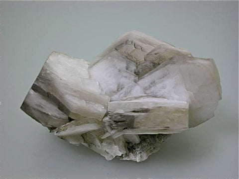 Calcite, Charcas Complex, Municipio de Charcas, San Luis Potosi, Mexico, Mined c. late 1960s, Dr. Perry & Anne Bynum Collection, Medium Cabinet 6.5 x 7.0 x 10.0 cm, $200.  Online 12/7