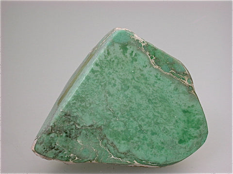 Variscite, Fairfield area attr. Utah, Noll Collection #CN336, Small Cabinet 5.5 x 7.5 x 8.0 cm, $100. Online 7/11. SOLD.