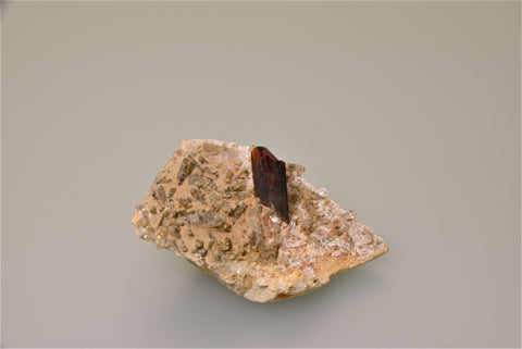 Brookite with Quartz, Trodok, Kharan, Baluchistan, Pakistan, Collected ca. early 2000, Kalaskie Collection #866, Small Cabinet, 3.5 x 5.5 x 8.5 cm, $2500.  Online 3/7.