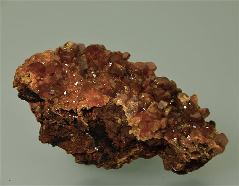 Mimetite, Ping Touling Mine, Guangdong Province, China, Mined ca. 2006,  Kalaskie Collection #1325, Miniature 2.5 x 4.5 x 8.5 cm, $250.  Online 3/9