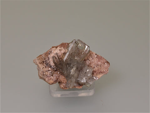 Barite, Cerro, Warihuyn, Peru, Mined ca. 2006, Kalaskie Collection #1341, Miniature 3.0 x 3.5 x 5.5 cm, $60.  Online 3/7