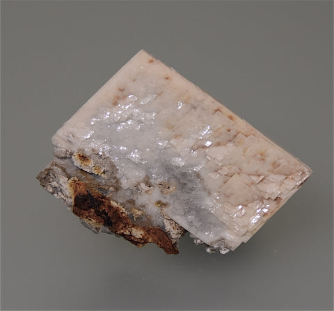 Barite, Muddy Creek, Summitville, Colorado, Purchased 1987, Kalaskie Collection #423, Miniature 0.5 x 3.0 x 3.8 cm, $45.  Online 4/3