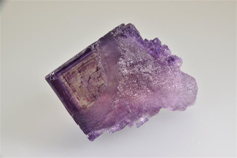 Fluorite, Elmwood Complex, Smith County, Tennessee, Mined ca. 1980, Kalaskie Collection #42-20, Small Cabinet 7.0 x 7.0 x 11.0 cm, $1200.  Online 6/6.