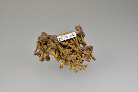 Copper, 'Laker Pocket', Lake Superior Copper District, near Eagle Harbor, Keweenaw County, Michigan Miniature 2.5 x 3 x 4.5 cm $250. Online 7/21