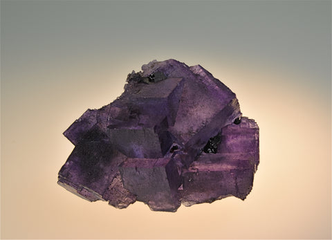 SOLD Fluorite, Sub-Rosiclare Level, Annabel Lee Mine, Ozark-Mahoning Company, Harris Creek District, Southern Illinois Small Cabinet, 3.5 x 6 x 7.5 cm $200. Online 6/27