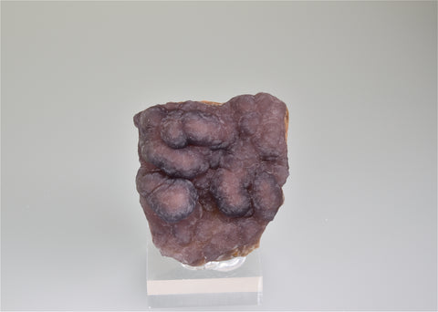 SOLD Fluorite 'Botryoidal', Canon City, Fremont, Colorado, Holzner Collection #789, Miniature 2.5 x 5.0 x 5.5 cm, $125. Online 8/10.