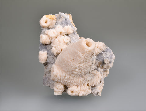 Dolomite after Calcite, Cavnic, Maramures, Romania, Mined c. 1965, G & J Megerle Collection, Medium Cabinet, 6.0 x 8.5 x 11.0 cm, $350.  Online 1/10.