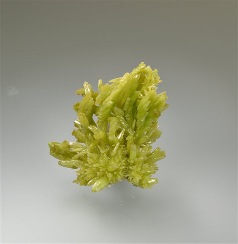 Pyromorphite, Dao Ping Mine, Guang xi, China Miniature 2.5 x 4 x 4.3 cm Mined ca. 2009 $500. Online 2/27
