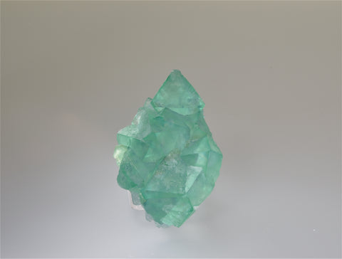 Fluorite, Riemvasmaak, Northern Cape Province, Kakamas District, South Africa, Mined c. 2009, Kalaskie Collection #42-212, Miniature 2.5 x 5.0 x 8.0 cm, $380. Online 11/1
