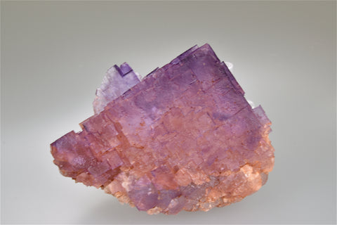 Fluorite, Benson Mine attr., Spar Mountain Area, Cave-in-Rock District, Southern Illinois, Kalaskie Collection #42-58, Small Cabinet 5.0 x 6.0 x 8.0 cm, $125.  Online 11/6.
