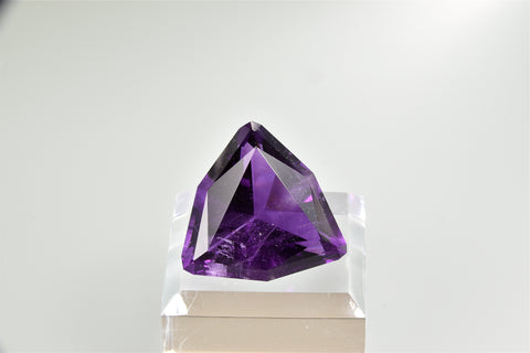 Fluorite Gemstone, Rosiclare Level, Denton Mine, Harris Creek District, Southern Illinois 95.60 ct. $950. Online 7/26