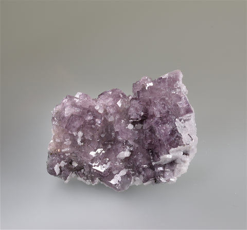 Fluorite with Calcite, Heights Mine, Alston, England, Kalaskie Collection #42-237, Small Cabinet 3.5 x 5.5 x 9.0 cm, $125.  Online 11/1