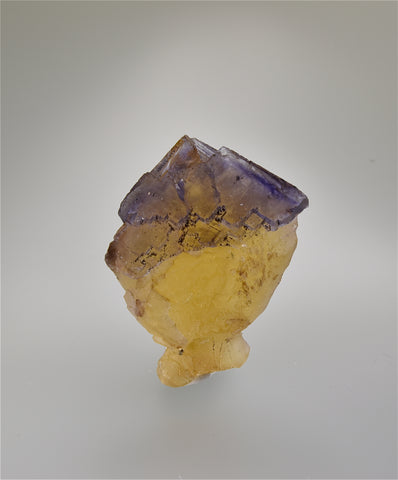 Fluorite, Rosiclare Level, Minerva #1 Mine, Ozark-Mahoning Company, Cave-in-Rock District, Southern Illinois Miniature 3 x 3.2 x 5 cm $75. online 11/1