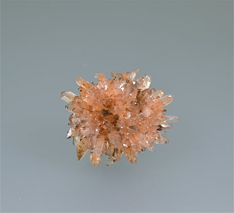 Creedite, Mina Navidad, Abasolo, Durango, Mexico, Kalaskie Collection #1306, Miniature 4.0 x 4.5 x 4.5 cm, $80.  Online 11/7.