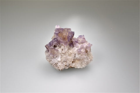 Fluorite, Rosiclare Level, Lead Hill, Cave-in-Rock Sub-district, Southern Illinois, Field Collected November 2018, Small Cabinet 3.5 cm x 6.0 cm x 7.0 cm, $50.  Online 8/15.