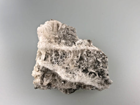 Calcite, Bethel Level, Annabel Lee, Ozark-Mahoning Company, Harris Creek District, Southern Illinois, Mined c. 1990, Ron Roberts Collection C-36, Miniature 2.0 x 3.5 x 4.0 cm, $15.  Online September 14.