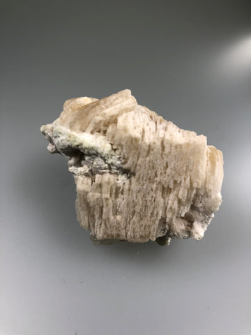Witherite, Bethel Level, Minerva #1 Mine, Minerva Oil Company, Cave-in-Rock District, Southern Illinois, Mined c. early 1960's,  Ron Roberts Collection W-1, Miniature 2.5 x 4.0 x 5.0 cm, $100.  Online September 14.
