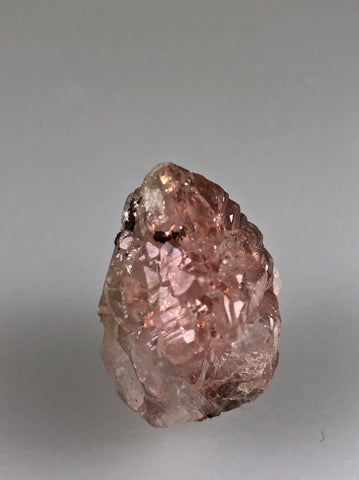 Copper in Calcite, Lake Superior Copper District, Keweenaw, Michigan, ex. Louis Lafayette Collection, Miniature 1.8 x 2.0 x 2.9 cm, $125.  Online 9/22.