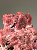 Rhodonite, Sussex County, Franklin, New Jersey, ex. Louis Lafayette Collection #61, Small Cabinet 3.0 x 6.0 x 6.5 cm, $450. Online Nov. 18