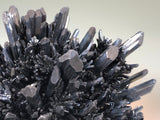 Stibnite, Baiutz Mine attr., Maramures, Romania, ex. Louis Lafayette Collection #875, Medium Cabinet 7.5 x 10.0 x 14.0 cm, $2500. Online Jan. 28