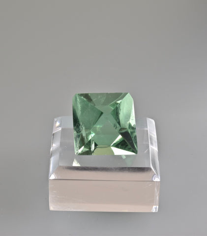 Fluorite, William Wise Mine, Westmoreland, Cheshire County, New Hampshire, Miniature, 2.2 cm on edge, $125. Online 10/9