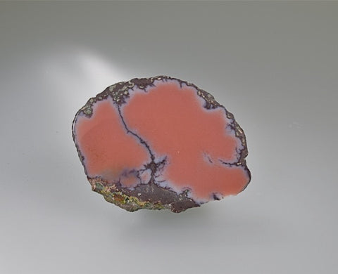 Datolite, Delaware Mine, Lake Superior Copper District, Keweenaw County, Michigan, Small Cabinet 0.7 cm x 3.5 cm x 5.0 cm, $150. Online Feb. 28.