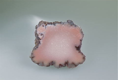 Datolite, Kearsarge Lode, Ojibwa Mine, Lake Superior Copper District, Houghton County, Michigan, Small Cabinet 0.5 cm x 5.5 cm x 6.0 cm, $125.  Online Feb. 28.