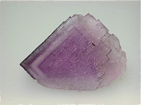 Fluorite, attr: Hill-Ledford Mine, Ozark-Mahoning Company, Cave-in-Rock District, Southern Illinois, collected  c. early 1960s, Dr. Perry & Anne Bynum Collection, Miniature 4.0 x 4.5 x 5.0 cm, $30.  Online 7/24. SOLD.
