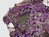 Fluorite with Sphalerite, Sub-Rosiclare Level, Annabel Lee Mine, Ozark-Mahoning Company, Harris Creek District, Southern Illinois, Mined Dec. 1989, Sam & Ann Koster Collection #00790, Medium Cabinet 6.0 x 12.0 x 17.0 cm, $450. Online 4/8/15. SOLD.